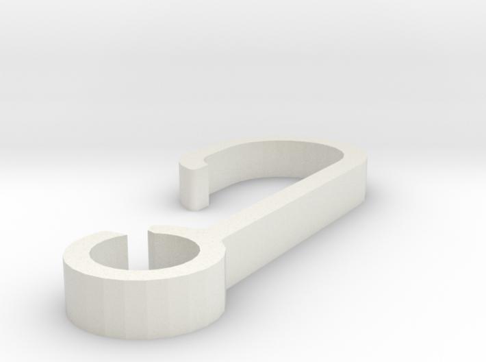 Dog Leash Belt Clip 3d printed