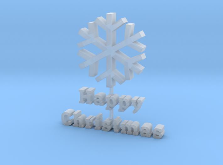 2016 Happy Christmas 3d printed