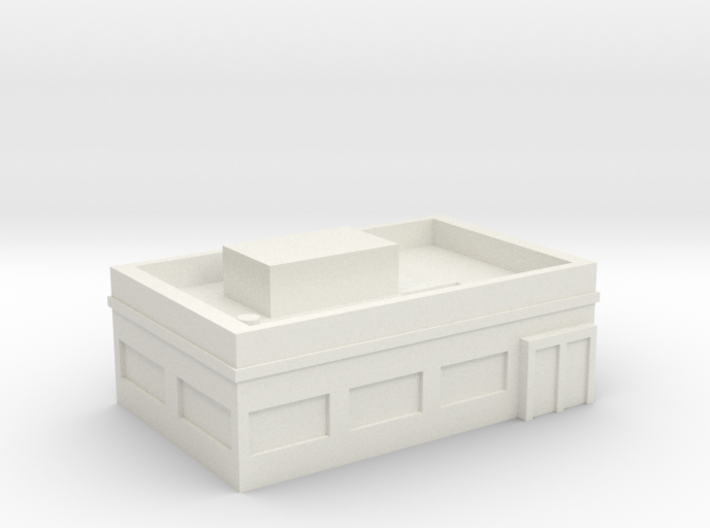 Generic Restaurant Cafe 3d printed