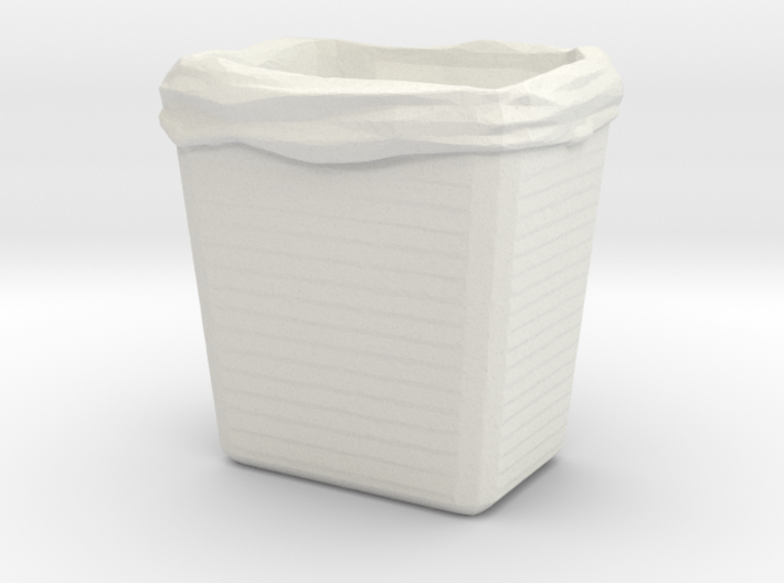 Printle Thing Dustbin 1/24 3d printed
