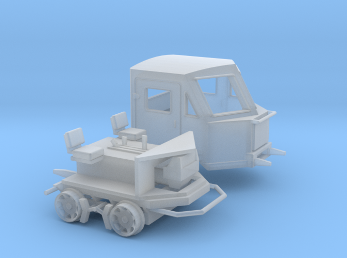 HO Scale Woodings CBI Railcar 3d printed