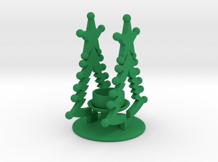 Christmas Theelight Holder 3 3d printed