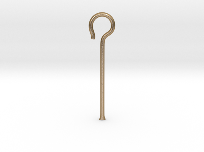 Egyptian Heqa Sceptre 3d printed