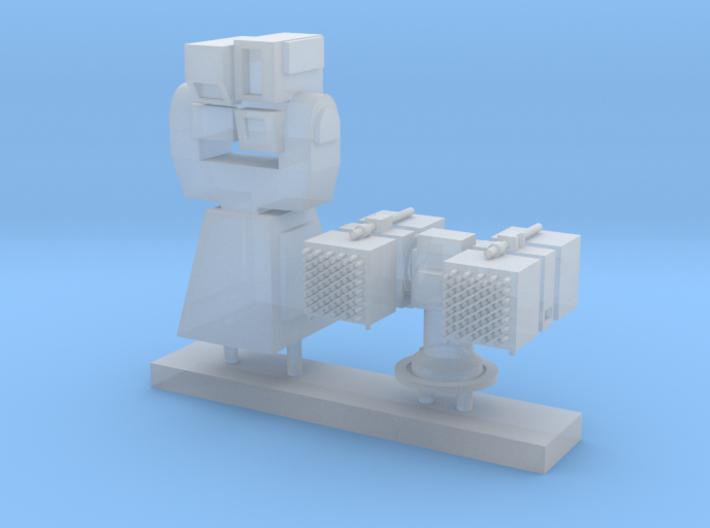 1/120 scale Laser Director Set 3d printed