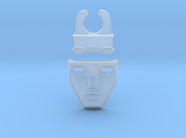 Tesla Face (v.08) 3d printed