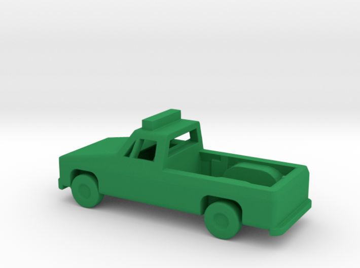 1/144 Scale Pickup With Lights 3d printed