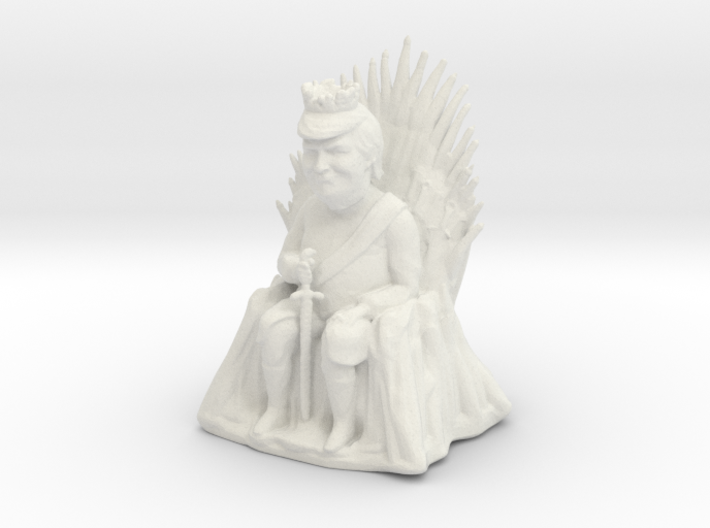Trump as Game of Thrones Character With Sword 3d printed
