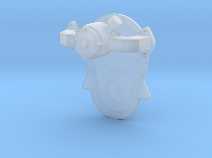 Brodix BBC Front cover & water pump 1/25 3d printed