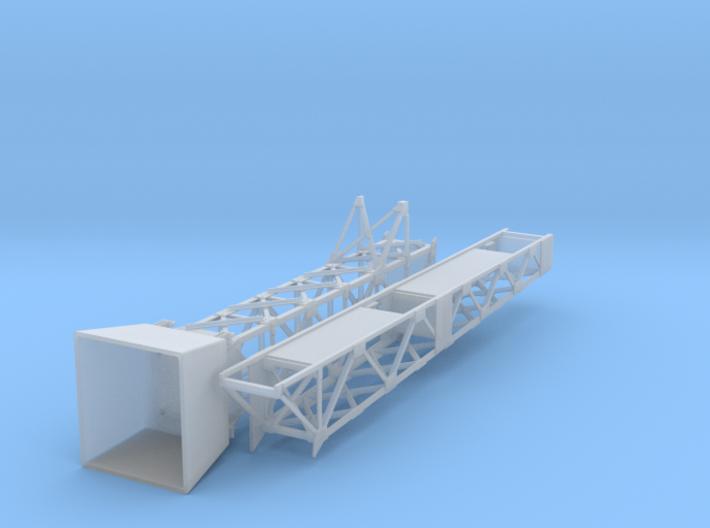 Large Cantilever Signal Bridge S Scale Build 3d printed
