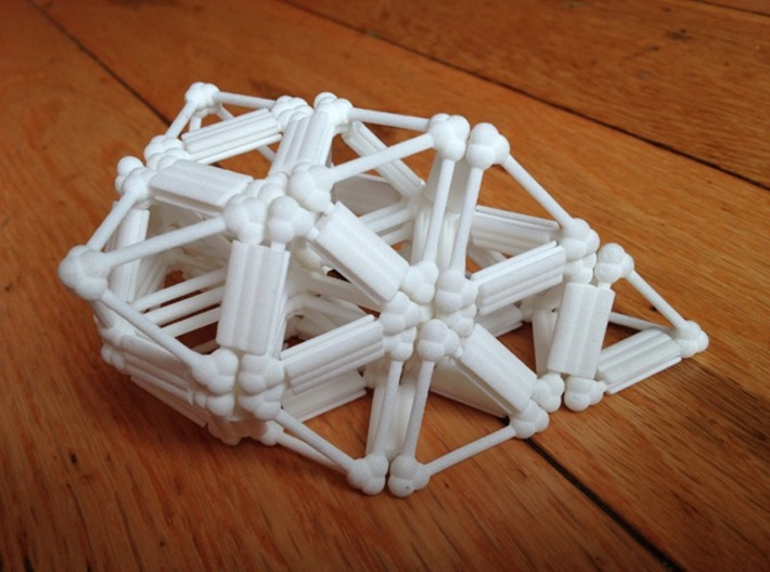 Octet Truss, v2 3d printed Lattice