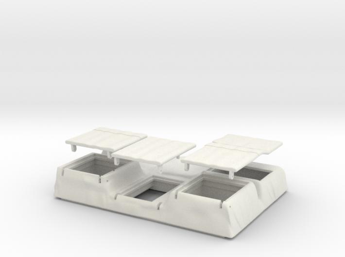06A-Batteries 3d printed