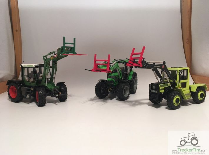 Ballengabel weise toys Stoll Frontlader 1:32 3d printed