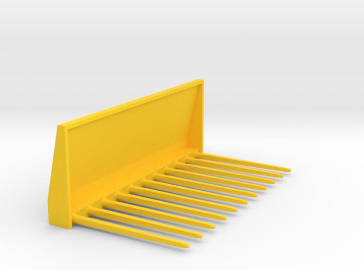 Manure fork 1/32 3d printed