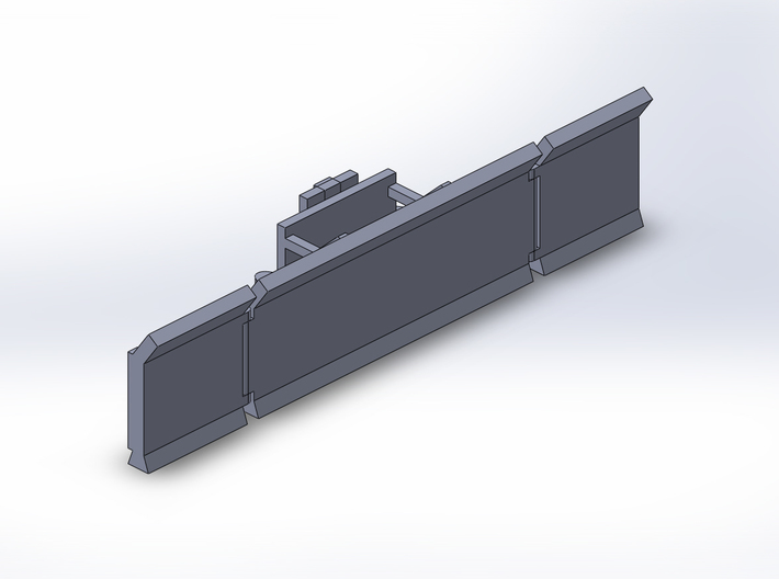 1:160/N-Scale Maize Leveller 3d printed