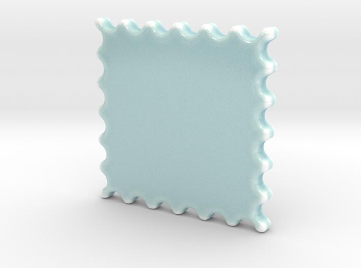 Celadon Selfie Stamp Wall Frame 3d printed