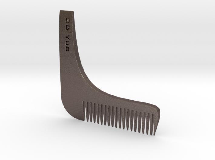 Beard Comb 3d printed