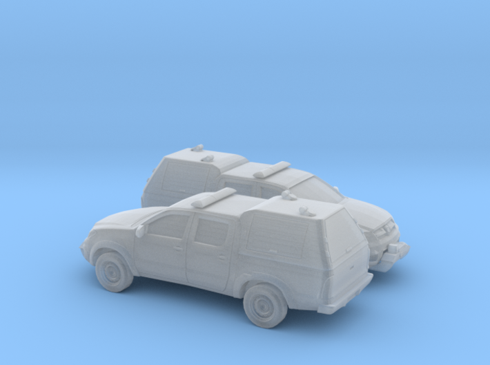 1/160 2X 2005-15 Toyota Hilux Royal Airforce Mount 3d printed