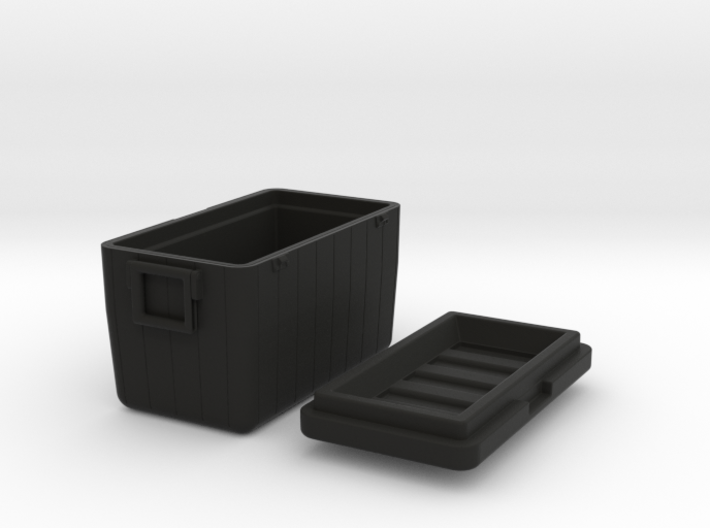 Camping-Cooler - 1/10 3d printed