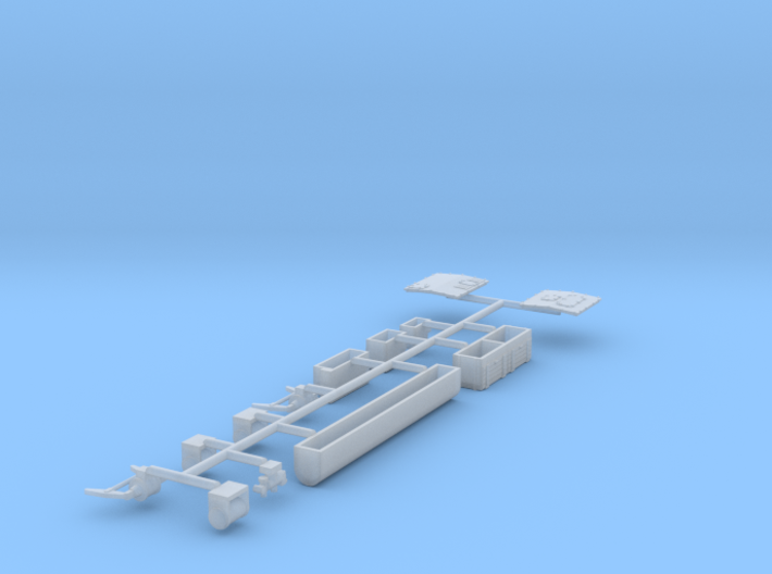 AT&SF Heavyweight Lounge Car Details (N-Scale) 3d printed
