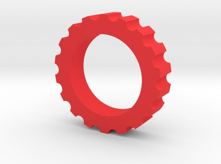 Spline Nut Fidget Spinner 3d printed