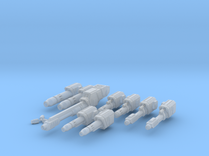 WoB Ballistic Weapon Pack A 3d printed