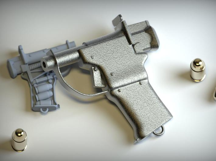 Liberator W 3d printed Photo of Stainless Steel#2