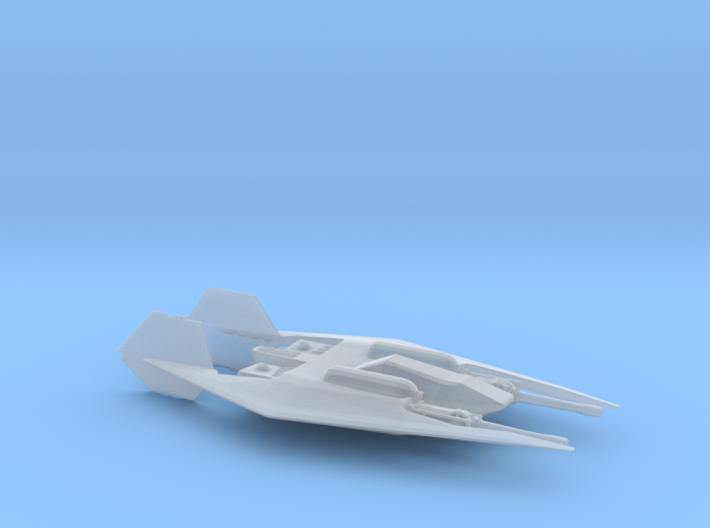 Narn Frazi Fighter (Babylon 5) HiRez, 1/270 3d printed