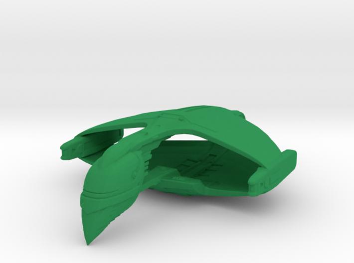 Romulan D'deridex Class Warbird 1/10000 3d printed