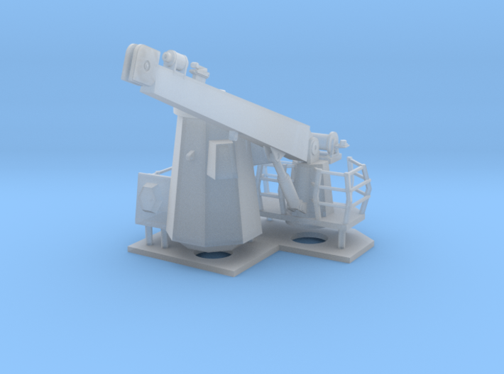 1/72 scale Burke Ship Crane 3d printed