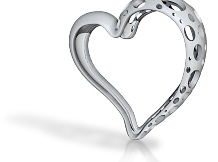 Perforated Heart 3d printed