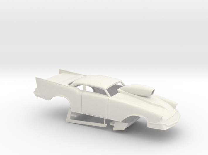 1/16 57 Chevy Pro Mod W Scoop 3d printed