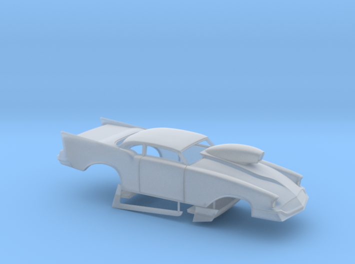 1/64 57 Chevy Pro Mod W Scoop 3d printed