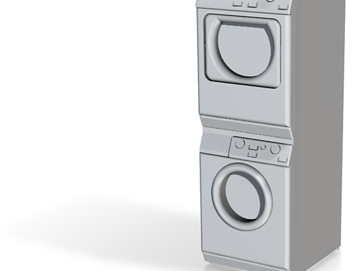 Stackable Washer Dryer MIELE - STL File Created By 3d printed