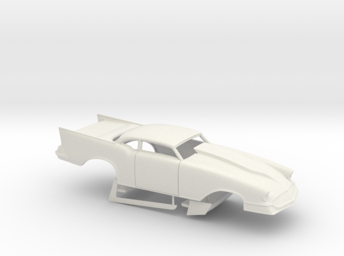 1 25 57 Chevy Pro Mod No Scoop 3d printed