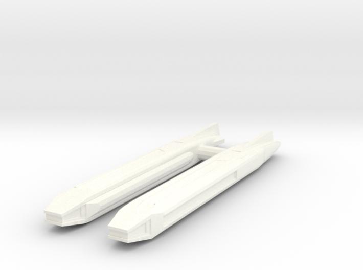 Fiwg-2 Fed Improved Warp Nacelle Set 3d printed