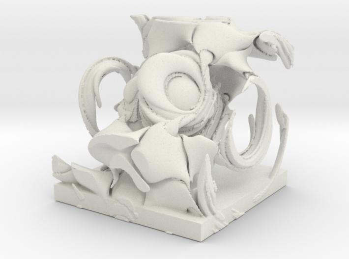 Demon, solid. 3d printed