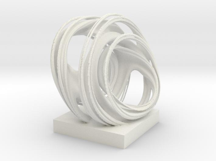 Rings, solid. 3d printed