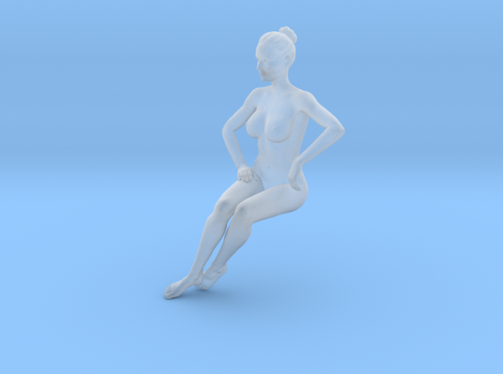 Mini Sexy Woman 020 1/64 3d printed