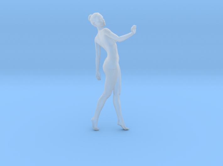 Mini Sexy Woman 029 1/64 3d printed