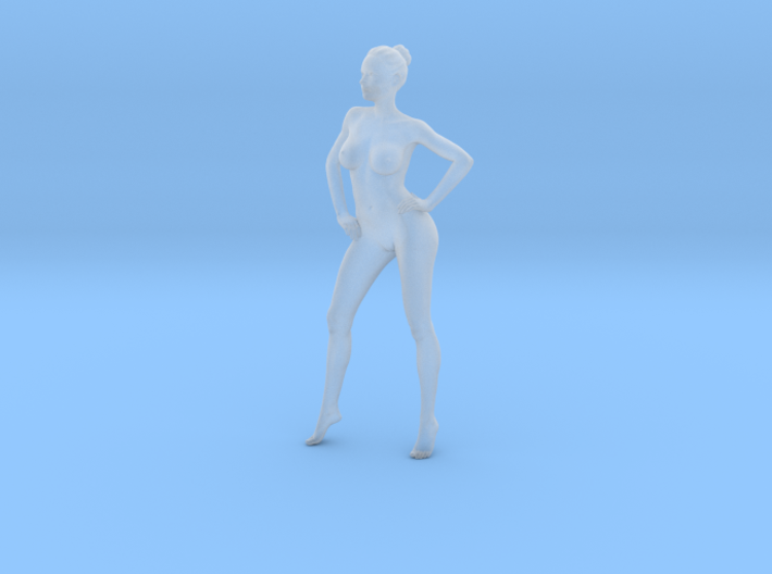 Mini Sexy Woman 032 1/64 3d printed