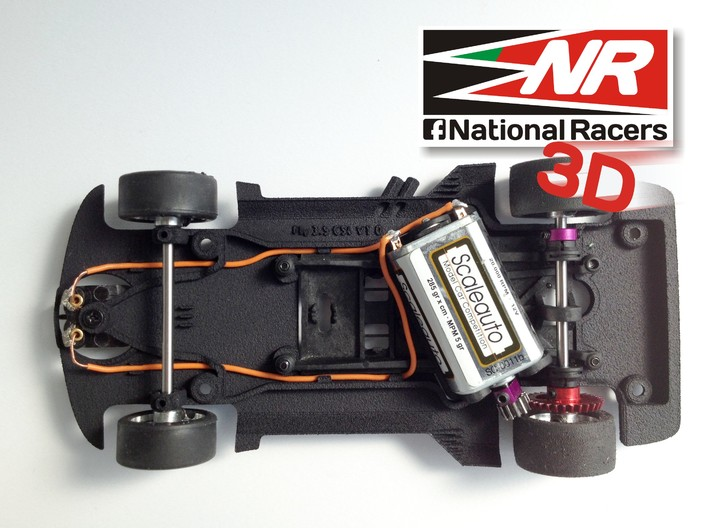 3D Chassis - Fly 3.5 CSL Combo 3d printed