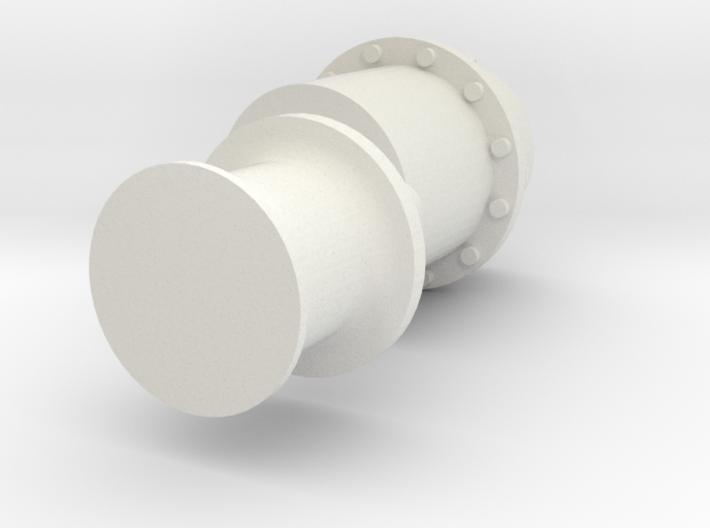 ASD2810 - capstan aftdeck 3d printed