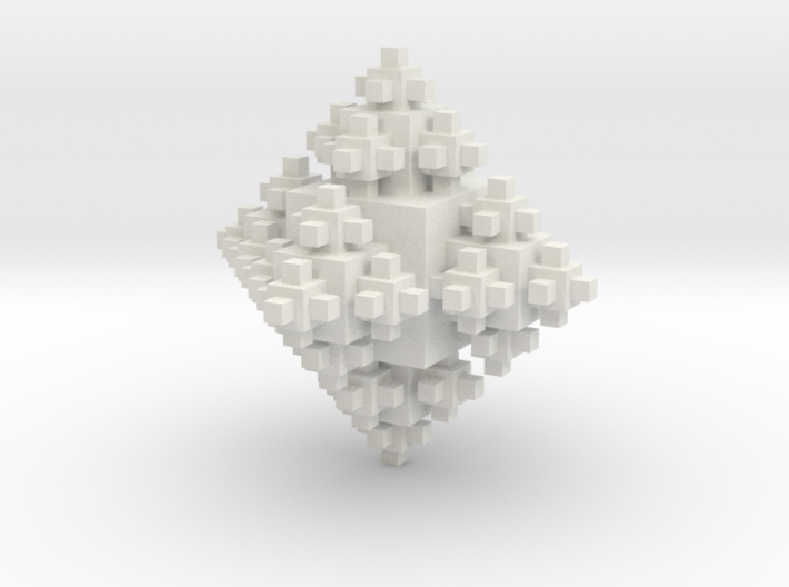 Cubic Octahedron 3d printed