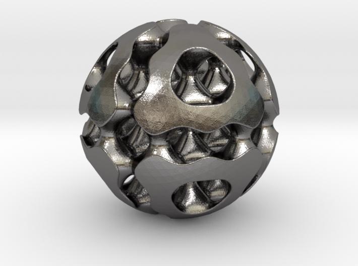 0616 F(x,y,z)=0 Bloby Schwarz Ball 12T (d=5cm) 3d printed