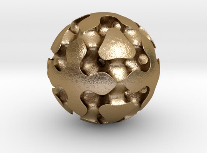 0617 F(x,y,z)=0 Bloby Schwarz Ball 12F (d=5cm) 3d printed