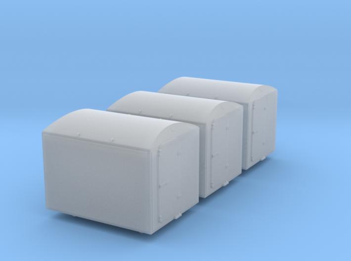 """3 Stück Tiefkühlbehälter EIKRT """"Von Haus zu Haus"""" 3d printed"""