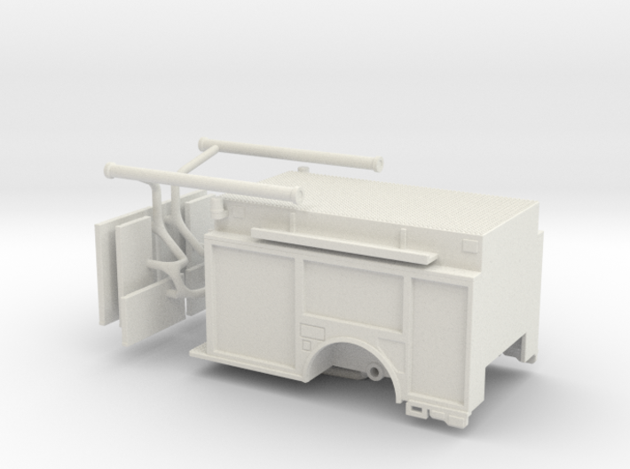 1/87 KME Camden engine body updated 3d printed