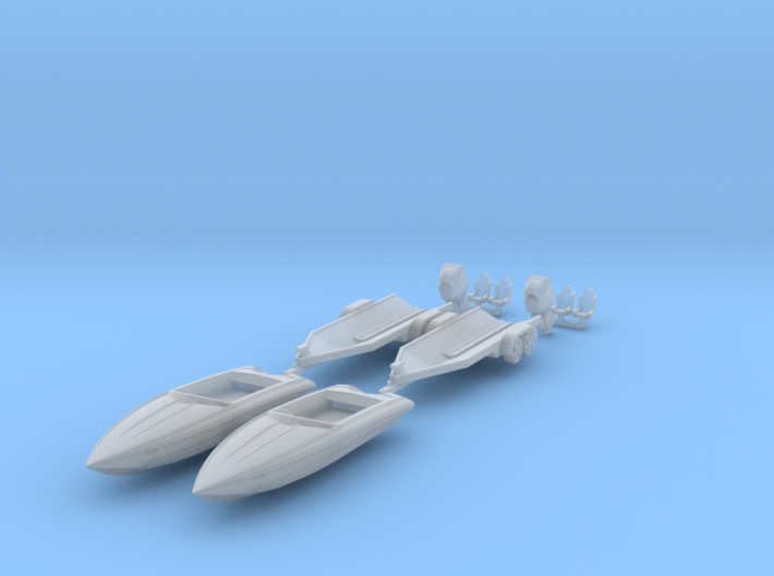 2 X Bernico F2 Xtreme HO - Scale 3d printed