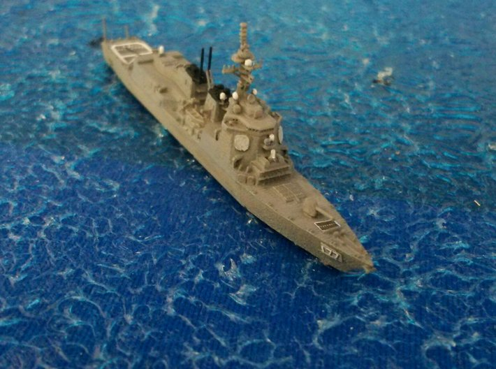 1/2000 JS Atago-class destroyer 3d printed painted and decal