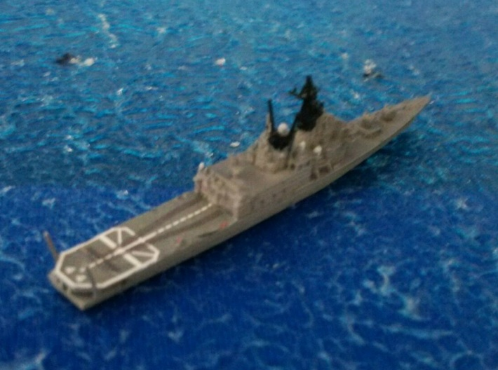 1/2000 JS Shirane-class Helicopter destroyer 3d printed painted and decal